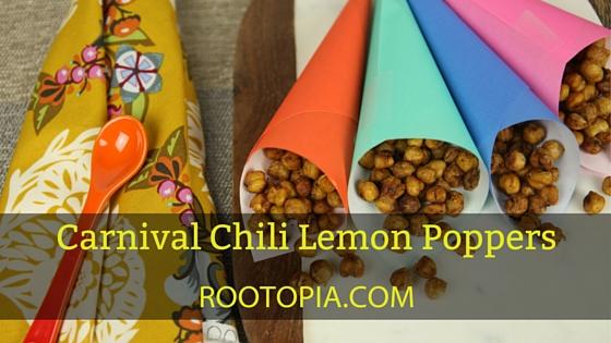 Chili lemon poppers