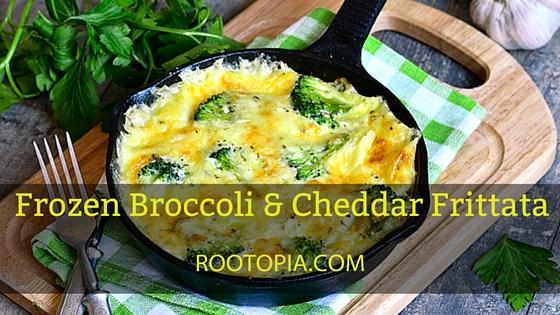 Frozen Broccoli Cheddar Frittata